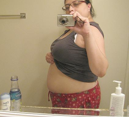 15 Weeks with a bare belly